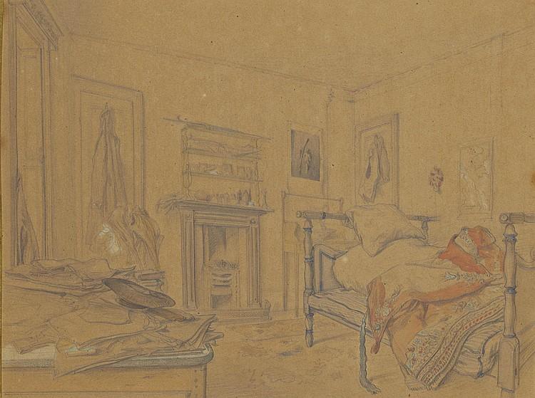 JULES LAURENS (CARPENTRAS 1825-1901 SAINT-DIDIER)