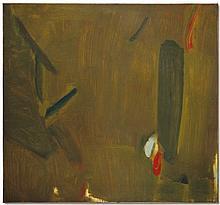 OLIVIER DEBRÉ (1920-1999) Sans titre huile sur toile 140 x 150 cm.