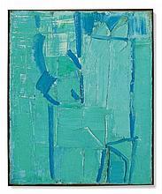 Olivier Debré (1920-1999) Sans titre huile sur toile 61 x 50 cm.