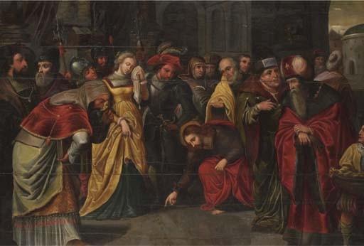 ENTOURAGDE FRANS FRANCKEN L'ANCIEN (1542-1616)