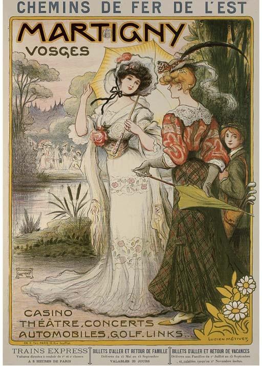 MÉTIVET, LUCIEN (1863-1932)