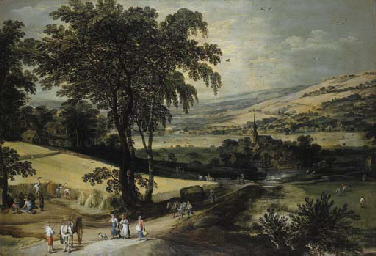 Joos de Momper II (Antwerp 1564-1635) and Jan Brueghel II (Antwerp 1601-1678)