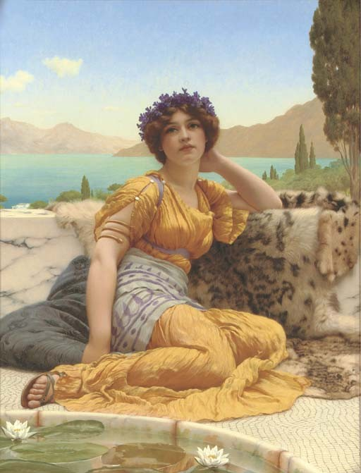 John William Godward, R.B.A. (1861-1922)