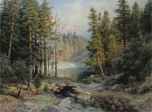 August Kessler (German, 1826-1906)