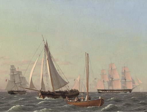 Christoffer Wilhelm Eckersberg (Danish, 1783-1853)