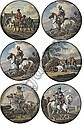 Six roundels depicting horsemen, Aleksandr Orlovsky, Click for value
