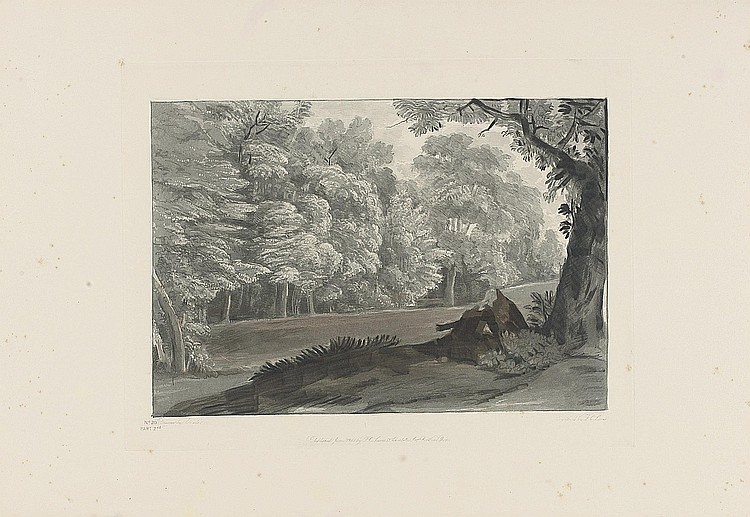 CLAUDE LORRAIN -- LEWIS, Frederick Christian (1779-1856).  Liber studiorum of Claude Lorraine ... engraved from the drawings in the British Museum.  London: F.C. Lewis, 1837-1840.