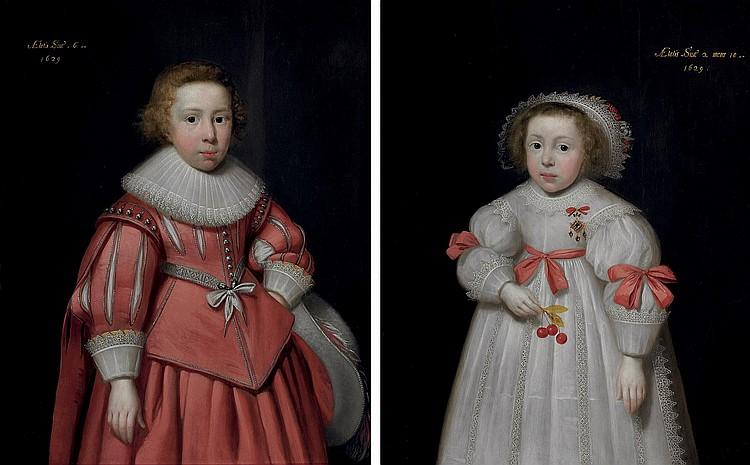 Cornelis Jonson van Ceulen I (London 1593-1661 Utrecht)