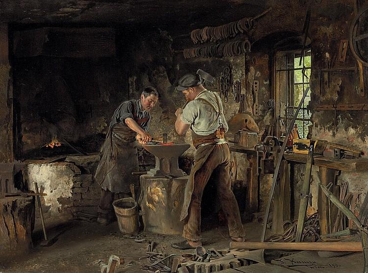 Johann Hamza (Moravia 1850-1927 Vienna)