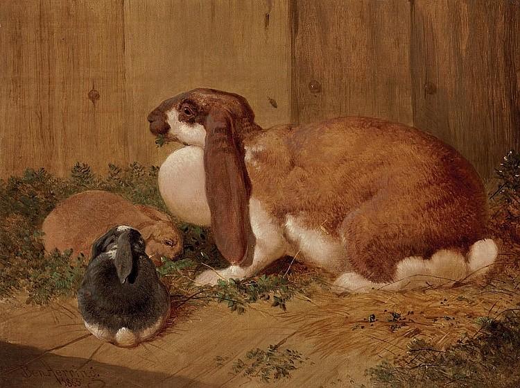 Benjamin Herring, Jun. (Doncaster 1830-1871 Tonbridge)