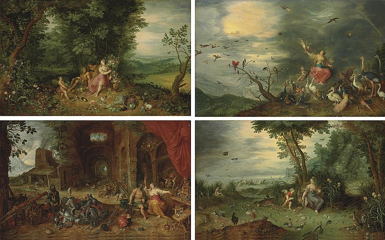 Jan Breughel II (Antwerp 1601-1678) and Frans Francken II (Antwerp 1581-1642)