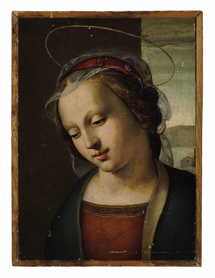 Attributed to Ridolfo Ghirlandaio (Florence 1483-1561)