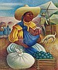 Miguel Covarrubias (Mexican 1904-1957), Miquel Covarrubias, Click for value