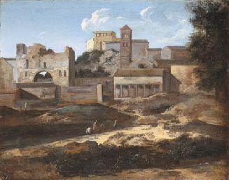 Attributed to Gaspard Dughet, called Gaspard Poussin (Rome 1615-1675)