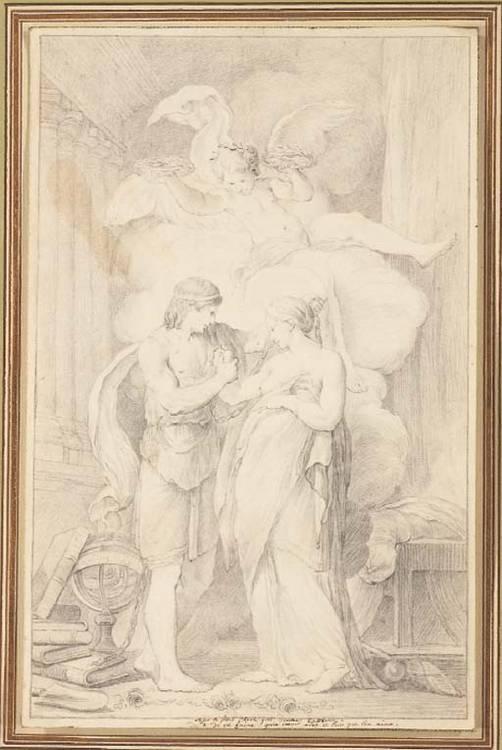 Attribué à Jean-François-Pierre Peyron (1744-1814)