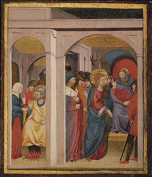 Christ before Caiaphas, and The Denial of Saint Peter
