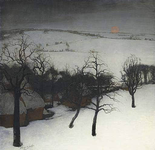 Paysage d'Hiver - Winter landscape