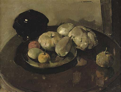 Nature Morte - A still life with pumpkins and fruits