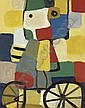 Cycliste, Karel Appel, Click for value