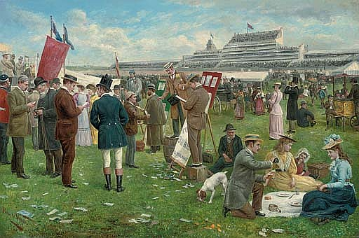 Derby Day, Epsom
