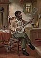 The banjo player, David W. Haddon, Click for value