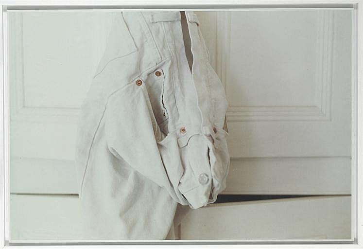 white jeans on white
