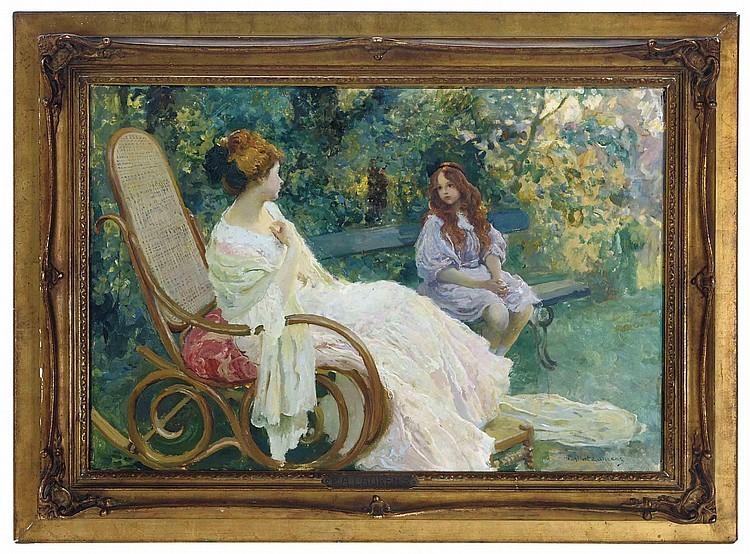 Paul Albert Laurens (French, 1870-1934)