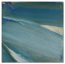 OLIVIER DEBRÉ (1920-1999) Loire, bleu vert d'hiver