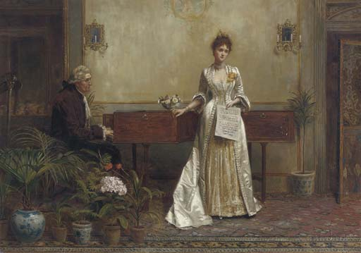 George Goodwin Kilburne, R.I., R.B.A. (1839-1924)