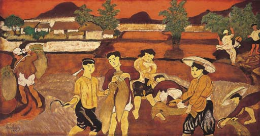 <B>NGUYEN TIEN CHUNG</B> (Vietnam 1914-1976)
