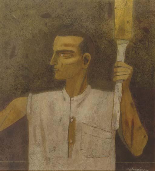 <B>GANESH PYNE</B> (b. India 1937)