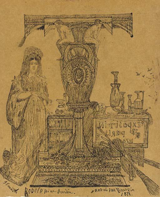 Rodolphe Bresdin (Montrelais 1825-1885 Sèvres)