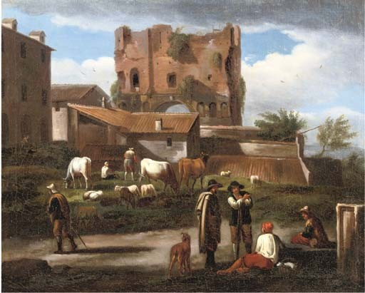Norbert van Bloemen (Antwerpen 1670-1746 Amsterdam)