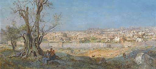 Jerusalem, seen from the Mount of Olives