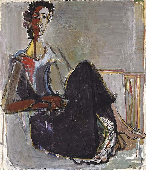 Seated Woman - Tsila