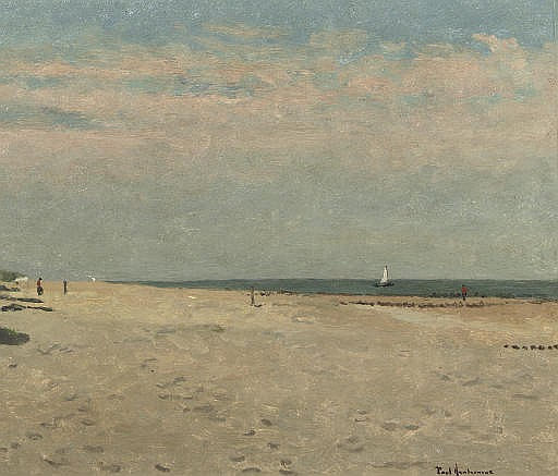 A quiet day on the beach near Domburg