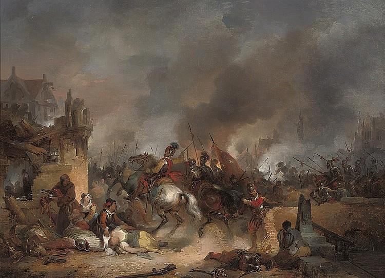 Baron Hendrik Leys (Belgian 1815-1869)
