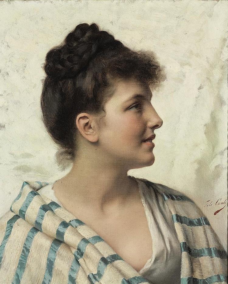Tito Conti (Italian, 1842-1924)