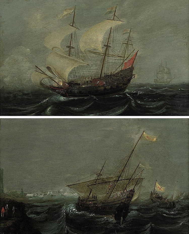 Aernout Anthonissen (Amsterdam c. 1632-c. 1688 Ziericksee)