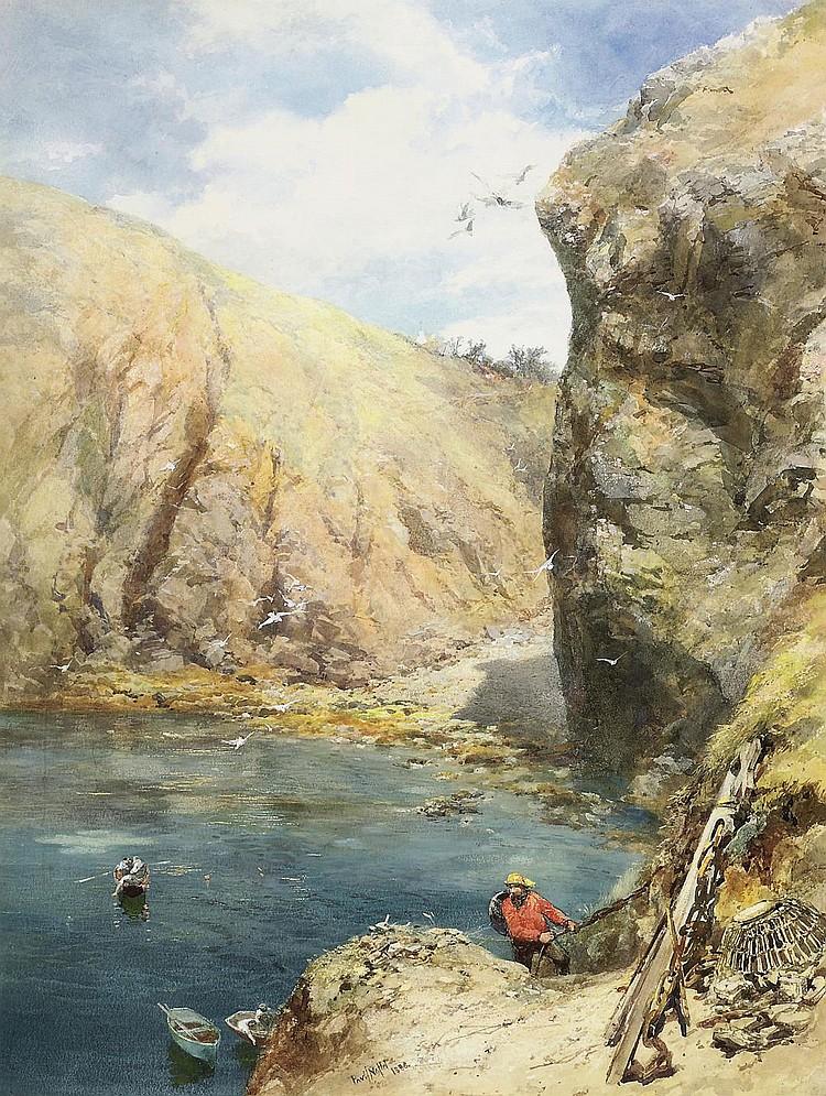 Paul Jacob Naftel, R.W.S. (St. Peter Port 1817-1891)