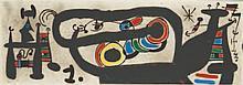 JOAN MIRO (1893- 1983) Le Lézard aux Plumes d'or (Mourlot 793 et 828) Ensem