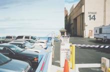 WILLIAM EGGLESTON (B. 1939) Stage 14, Parking Lot, Hollywood, 1999-2000
