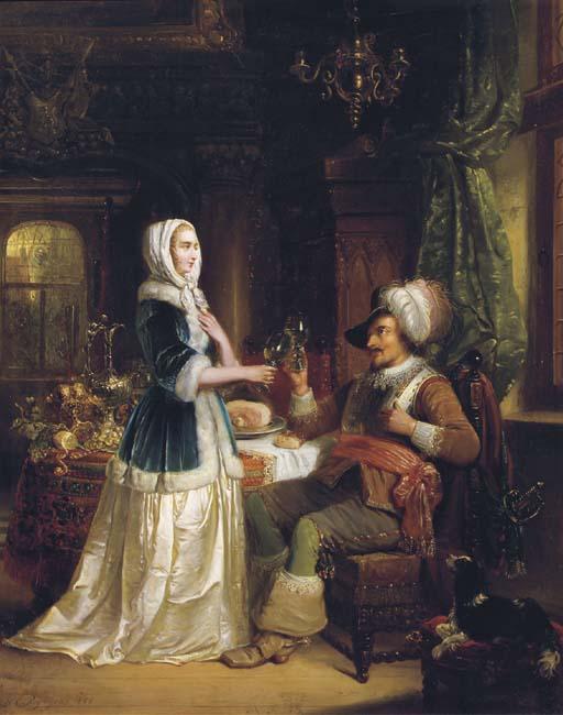 Henricus Engelbertus Reijntjens (Dutch, 1817-1900)