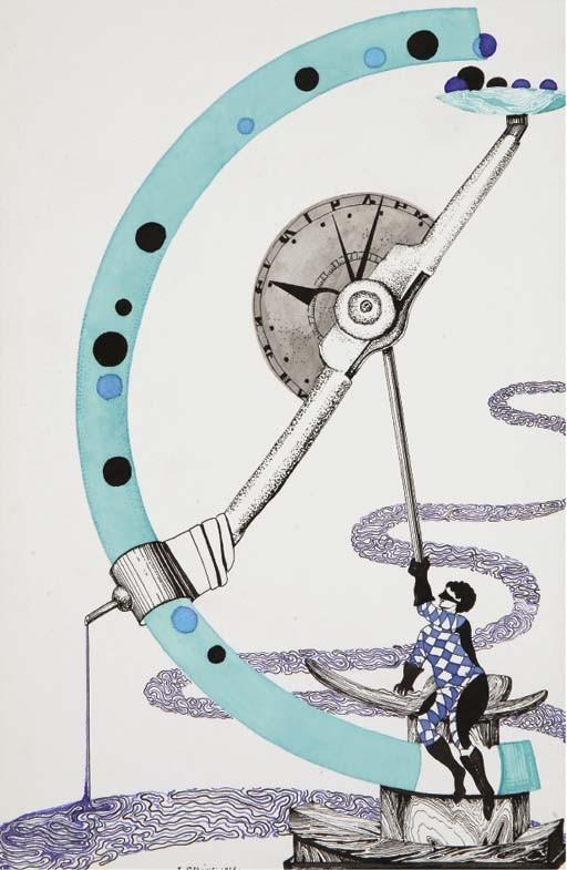 DEGAINE, Edouard (1868-1967). <I>Divertissements. Suite de vingt dessins inédits</I>. Paris: