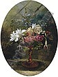 Still life of flowers in a tazza, Lilly Martin Spencer, Click for value