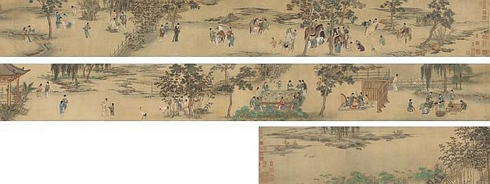QIU YING (CIRCA 1495 -1552)