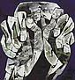 Oswaldo Guayasamín (Ecuadorian 1919-1999)                                        , Oswaldo Guayasamin, Click for value