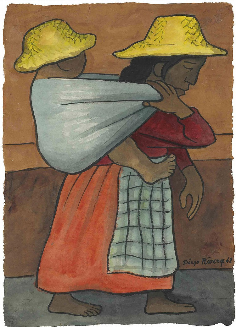 Diego Rivera (Mexican 1886-1957)
