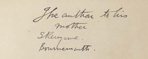 STEVENSON, Robert Louis (1850-1894). Prince Otto. A Romance. London: Chatto & Windus, 1885.
