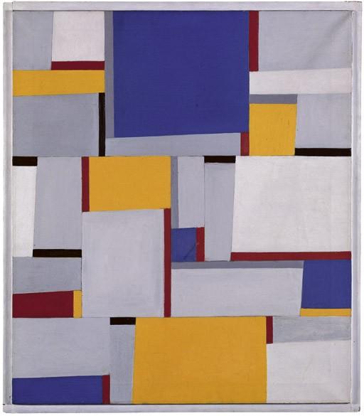 Relational painting II/81, 1957